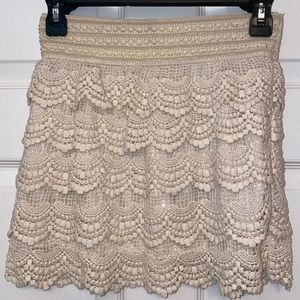 (5 for 25) gorgeous knit skirt,new with tags